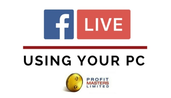 Facebook Live Using Your PC