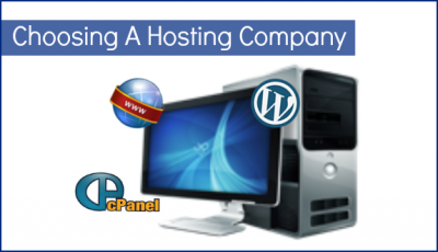 Choosing A Website Or Blog Hosting Company