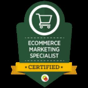 Ecommerce Marketing Specialist Badge