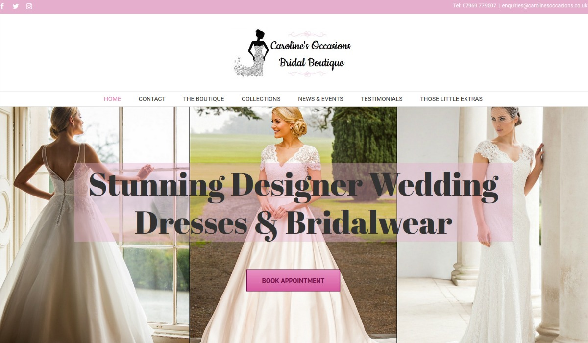 Visit Caroline's Occasions Website