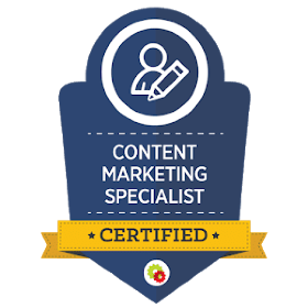 Content Marketing Specialist Badge
