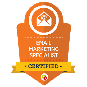 Email Marketing Certification Badge