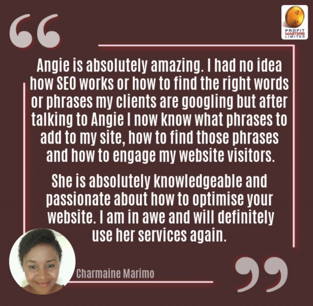 Client Testimonial - SEO & Keyword Research